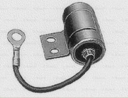 Kondensator, Zündanlage BOSCH (1 237 330 821), FIAT, BERTONE, 126, 500, 500 Kombi, 128, X 1/9, 128 Coupe, 128 Familiare