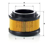 Filter, Kurbelgehäuseentlüftung MANN-FILTER (C 11 008)