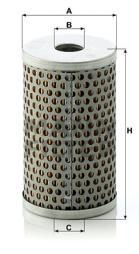 Filter, Arbeitshydraulik MANN-FILTER (H 601/4)