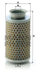 Filter, Arbeitshydraulik MANN-FILTER (H 615)