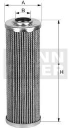 Filter, Arbeitshydraulik MANN-FILTER (HD 509/2 x)