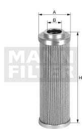 Filter, Arbeitshydraulik MANN-FILTER (HD 57/4)