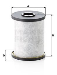 Filter, Kurbelgehäuseentlüftung MANN-FILTER (LC 10 002/1 x)
