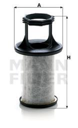 Filter, Kurbelgehäuseentlüftung MANN-FILTER (LC 5001 x)