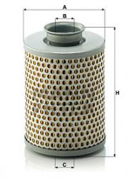 Filter, Arbeitshydraulik MANN-FILTER (P 919/7)