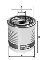 Lufttrocknerpatrone, Druckluftanlage MANN-FILTER (TB 1394/8 x)