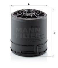 Lufttrocknerpatrone, Druckluftanlage MANN-FILTER (TB 15 001 z KIT)