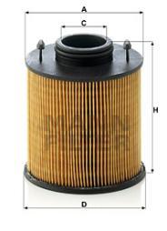 Harnstofffilter MANN-FILTER (U 620/3 y KIT)