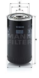 Ölfilter MANN-FILTER (W 950/39)