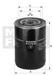 Kühlmittelfilter MANN-FILTER (WA 940/18)