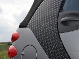 Auto Folie 3D schwarz selbstklebend 1 Rolle = 1,52m x 15m