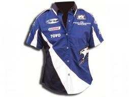 Bluse Damen-Hemd blau-weißGröße M Hemd Bluse