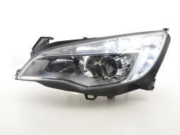 Scheinwerfer Daylight gebraucht mit Tagfahrlicht Opel Astra J  2009-2012 chrom