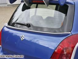 MATTIG Heckspoilerlippe für Suzuki Swift,  ab 2005