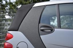 Auto Folie glitzernd schwarz selbstklebend 1 Rolle = 0,5m x 2m