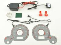 Tachoscheiben Plasmaoptik Set VW Passat (3BG)  2000-2004 Plasmascheibe Tacho