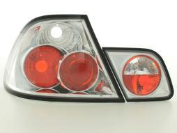 Rückleuchten Set gebraucht Heckleuchten BMW 3er Coupe Typ E46  99-02 chrom