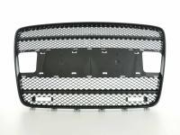 Sportgrill mit Positionslichthalter Frontgrill passend für Audi Q7 Typ 4L  05-09 schwarz