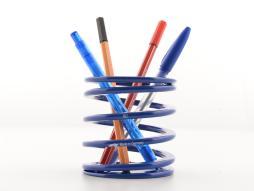 FK Stiftehalter Tieferlegungsfeder Stiftebox Rennsport-Design blau