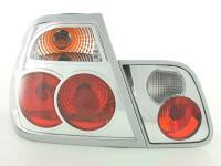 Rückleuchten Set für Heckklappe BMW 3er Limo Typ E46  98-01 chrom