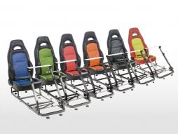 FK Gamesitz Spielsitz Rennsimulator eGaming Seats Silverstone [verschiedene Farben]