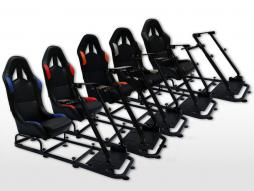 FK game seat game seat racing simulator eGaming Seats Monaco textiltyg / tyg [olika färger]