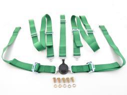 Hosenträgergurt 5-Punkt Gurt Renngurt universal grün