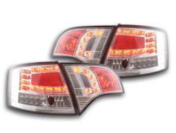 LED Rückleuchten Set Audi A4 Avant Typ 8E  04-08 chrom