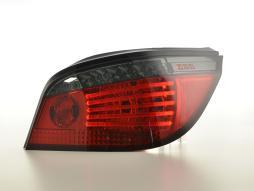 LED Rückleuchten Set Lightbar BMW 5er E60 Limo  07-09 rot/smoke