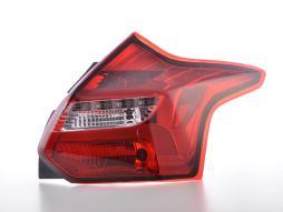 LED Rückleuchten Set Lightbar Ford Focus 3  10-14 rot/klar