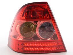 LED Rückleuchten Set Toyota Corolla Stufenheck Typ E12  02-04 rot