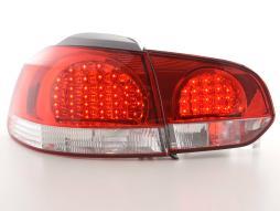 LED Rückleuchten Set VW Golf 6 Typ 1K  08- klar/rot