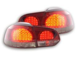 LED Rückleuchten Set VW Golf 6 Typ 1K  08- schwarz/rot