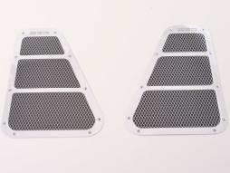 Lufteinlass Aufkleber Set 2x ca. 180 x 130 mm universal