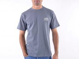 T-Shirt, Shirt, Top Modern, Klasse Design, grau Größe S