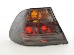 Rückleuchte Design gebraucht für BMW 3er Coupe (Typ E46)  99-02 schwarz Kotflügel links